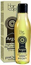 Parfums et Produits cosmétiques Élixir à l'huile d'argan pour cheveux sans rinçage - PostQuam Argan Fragile Hair Elixir