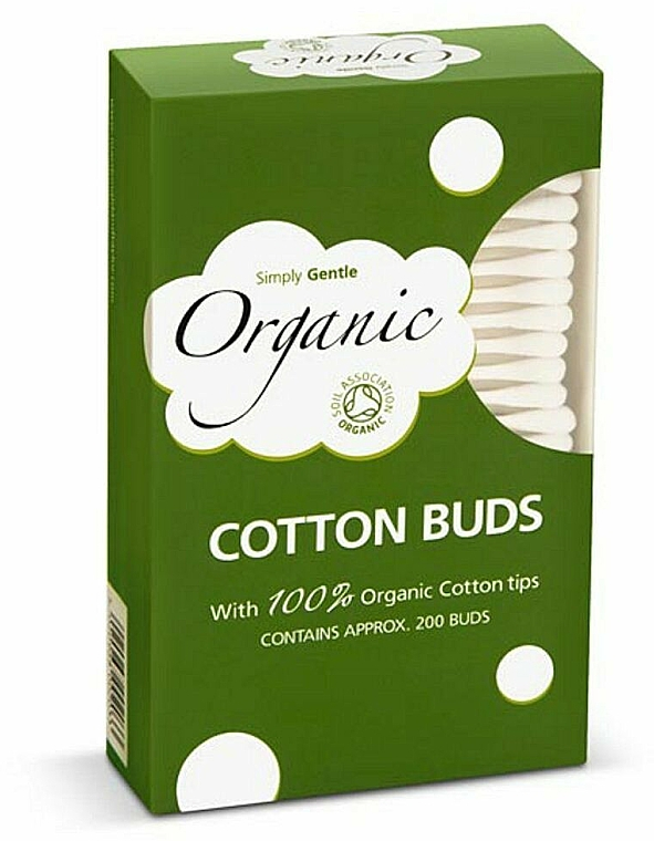 Cotons-tiges bio - Simply Gentle Organic Cotton Buds