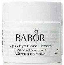 Parfums et Produits cosmétiques Crème à l'extrait d'hibiscus pour contour des yeux et lèvres - Babor Skinvoage PX Sensational Lip & Eye Care Cream