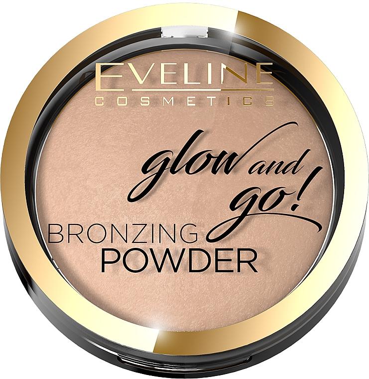 Poudre bronzante - Eveline Cosmetics Glow & Go Bronzing Powder