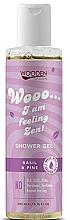 Parfums et Produits cosmétiques Gel douche aux huiles bio de pin sylvestre et basilic - Wooden Spoon I am feeling Zen! Shower Gel