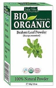 Poudre de feuilles de Brahmi pour cheveux - Indus Valley Bio Organic — Photo N1