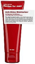 Parfums et Produits cosmétiques Gel anti-brillance à la caféine pour visage - Recipe For Men Anti Shine Moisturize