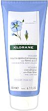 Parfums et Produits cosmétiques Après-shampooing aux fibres de lin - Klorane Volume Conditioner With Flax Fiber