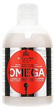 Parfums et Produits cosmétiques Shampooing au complexe oméga-6 et huile de macadamia - Kallos Cosmetics Omega Hair Shampoo