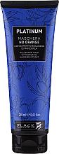 Parfums et Produits cosmétiques Masque à l'extrait d'amande bio neutralisant les nuances oranges et de cuivre pour cheveux - Black Professional Line Platinum No Orange Mask With Organic Almond Extract