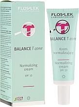 Parfums et Produits cosmétiques Crème de jour à la caféine - FlosLek Balance T-Zone Normalizing Day Cream SPF 10