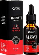 Parfums et Produits cosmétiques Sérum anti-chute bio à l'huile de piment - Wooden Spoon Hair Growth Serum