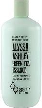 Parfums et Produits cosmétiques Alyssa Ashley Green Tea Essence - Lotion hydratante à l'extriat de thé vert pour le corps