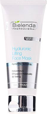 Masque à l'acide hyaluronique pour visage - Bielenda Professional Hydra-Hyal Injection Hyaluronic Lifting Face Mask