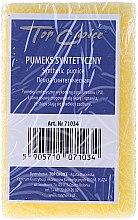 Parfums et Produits cosmétiques Pierre ponce synthétique 71034, jaune - Top Choice