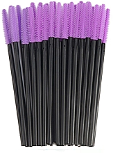 Parfums et Produits cosmétiques Goupillons en silicone pour cils, noir-violet - Novalia Group