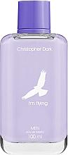 Parfums et Produits cosmétiques Christopher Dark I'm Flying For Men - Eau de Toilette