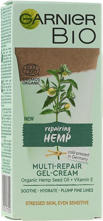 Gel-crème à l'huile de graines de chanvre pour visage - Garnier Bio Multi-Repair Gel-Cream — Photo N1