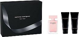 Parfums et Produits cosmétiques Narciso Rodriguez For Her - Coffret (eau de parfum/50ml + lait corps/75ml + gel douche/75ml)
