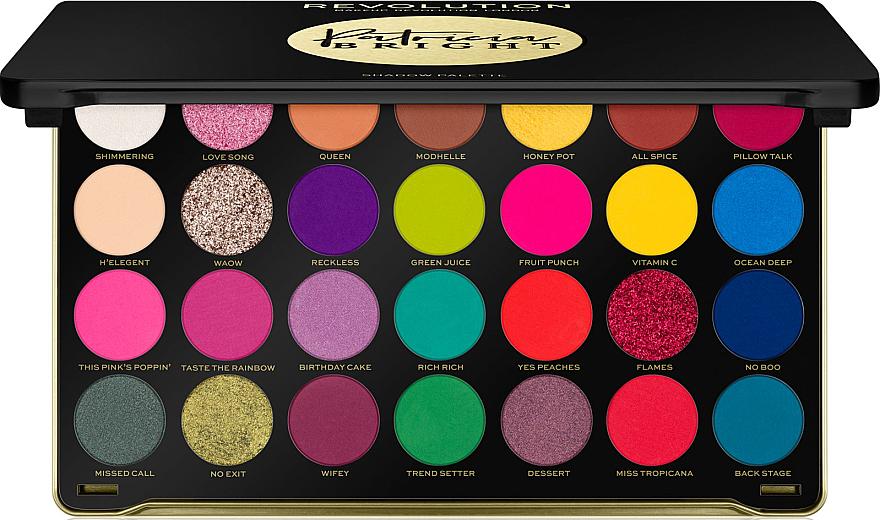 Palette d'ombres à paupières - Makeup Revolution X Patricia Bright Eyeshadow Palette