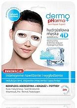 Parfums et Produits cosmétiques Masque hydrogel anti-rides contour des yeux - Dermo Pharma 4D Moisturizing & Wrinkle Reduct Hydrogel Eye Mask