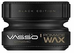 Parfums et Produits cosmétiques Pommade coiffante - Vasso Professional Hair Styling Pomade Wax Black Edition Dynamic