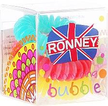 Parfums et Produits cosmétiques Lot de 3 élastiques à cheveux, 3,5 cm - Ronney Professional S23 MAT