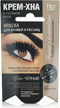 Crème-henné pour sourcils et cils - FitoKosmetik
