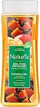 Parfums et Produits cosmétiques Gel douche à la mangue et papaye - Joanna Naturia Mango and Papaya Shower Gel