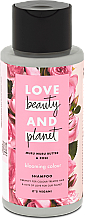 Parfums et Produits cosmétiques Shampooing au beurre de murumuru et huile de rose - Love Beauty&Planet Muru Muru Butter & Rose