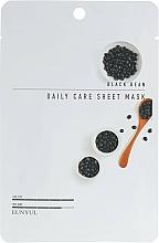Masque tissu à l'extrait de haricot noir pour visage - Eunyul Black Bean Daily Care Sheet Mask — Photo N1