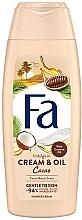 Parfums et Produits cosmétiques Crème de douche à l'huile de noix de coco et beurre de cacao - Fa Cacao Butter And Coco Oil