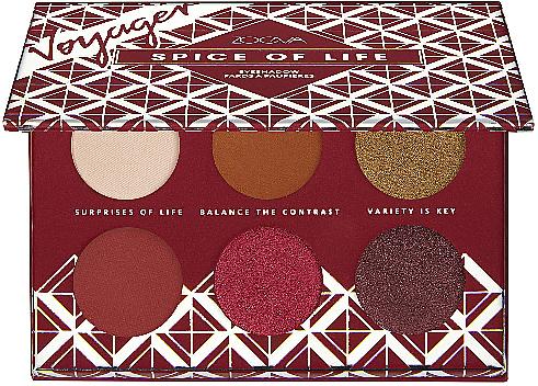 Palette de fards à paupières - Zoeva Spice Of Life Mini Eyeshadow Palette — Photo N3