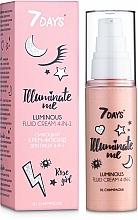 Parfums et Produits cosmétiques Crème-fluide éclaircissante pour visage - 7 Days Illuminate Me Luminous Fluid Cream 4in1