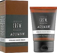 Parfums et Produits cosmétiques Crème à raser à l'huile de menthe poivrée - American Crew Acumen Cooling Shave Cream