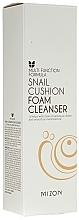 Parfums et Produits cosmétiques Mousse nettoyante à l'extrait d'escargot pour visage - Mizon Snail Cushion Foam Cleanser