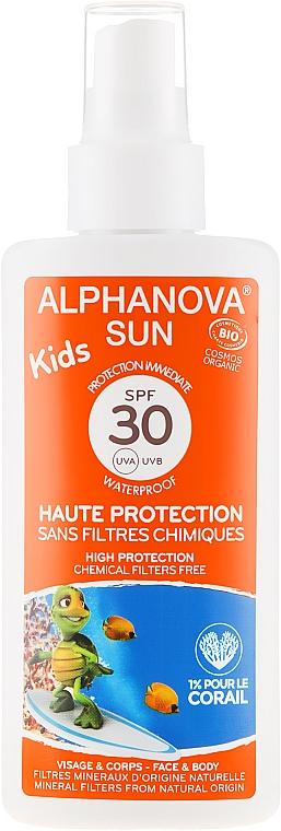 Crème solaire bio SPF 30 UVA - Alphanova Sun Kids SPF 30 UVA — Photo N1