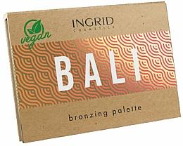 Parfums et Produits cosmétiques Palette bronzante pour visage - Ingrid Cosmetics Bali Bronzing Palette