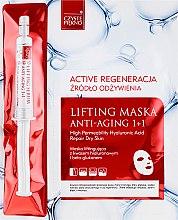 Parfums et Produits cosmétiques Masque régénérant actif avec sérum pour visage - Czyste Piekno Active Regeneration + Serum