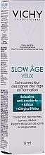 Parfums et Produits cosmétiques Crème à l'extrait de ginkgo biloba pour contour des yeux - Vichy Slow Age Eye Cream