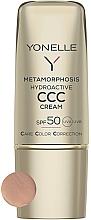 Parfums et Produits cosmétiques Crème teintée matifiante pour visage - Yonelle Metamorphosis Hydroactive CCC Cream SPF50