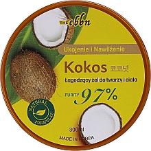 Parfums et Produits cosmétiques Gel à l'eau de noix de coco pour visage et corps - The Ebbn Soothing Face & Body Gel Coconut 97%