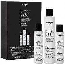 Parfums et Produits cosmétiques Dikson Diksoliss Mini Kit - Kit à l'acide hyaluronique (shampooing/100ml + crème pour cheveux/250ml + après-shampooing/100ml)