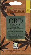 Parfums et Produits cosmétiques Masque hydratant et détoxifiant pour peaux mixtes et grasses - Bielenda CBD Cannabidiol Moisturizing & Detoxifying Mask
