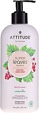 Parfums et Produits cosmétiques Savon liquide aux feuilles de vigne rouge pour mains - Attitude Natural Red Vine Leaves Foaming Hand Soap