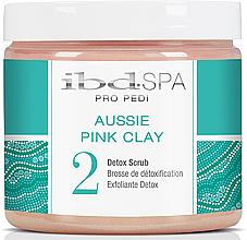Parfums et Produits cosmétiques Gommage détoxifiant à l'argile rose pour pieds - IBD Aussie Pink Clay Detox Scrub
