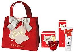 Parfums et Produits cosmétiques Lolita Lempicka Sweet - Coffret (eau de parfum 50ml + lait corps 75ml + sac)