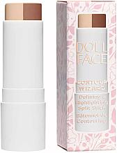 Parfums et Produits cosmétiques Stick enlumineur et contouring pour visage - Doll Face Contour Wizard Contour Split Sticks