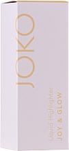 Parfums et Produits cosmétiques Enlumineur liquide - Joko Joy & Glow Liquid Highlighter