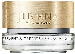 Parfums et Produits cosmétiques Crème à l'huile de soja pour contour des yeux - Juvena Skin Optimize Eye Cream Sensitive