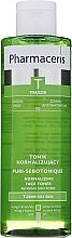 Parfums et Produits cosmétiques Lotion tonique rééquilibrante au tamarin et zinc - Pharmaceris T Puri-Sebotonique Normalizing Toner