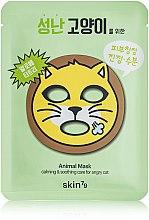 Parfums et Produits cosmétiques Masque tissu à l'aloe vera pour visage - Skin79 Animal Mask For Angry Cat
