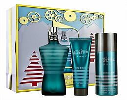 Parfums et Produits cosmétiques Jean Paul Gaultier Le Male - Coffret (eau de toilette/125ml + gel douche/75ml + déodorant/150ml)