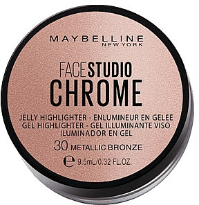 Enlumineur en gelée - Maybelline Face Studio Chrome Jelly Highlighter — Photo N1